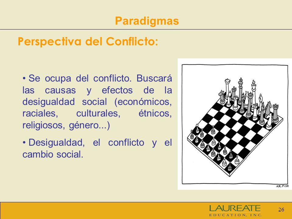 Perspectiva del Conflicto: