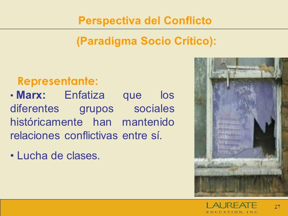 Perspectiva del Conflicto