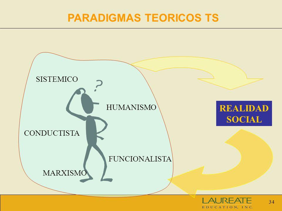 PARADIGMAS TEORICOS TS