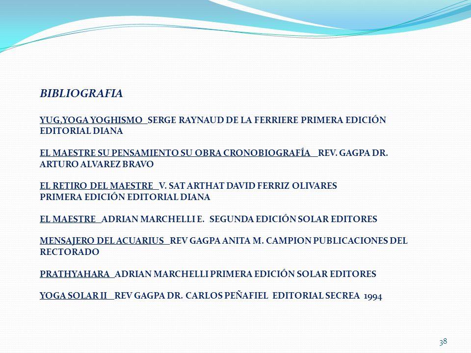 BIBLIOGRAFIA YUG,YOGA YOGHISMO SERGE RAYNAUD DE LA FERRIERE PRIMERA EDICIÓN EDITORIAL DIANA.