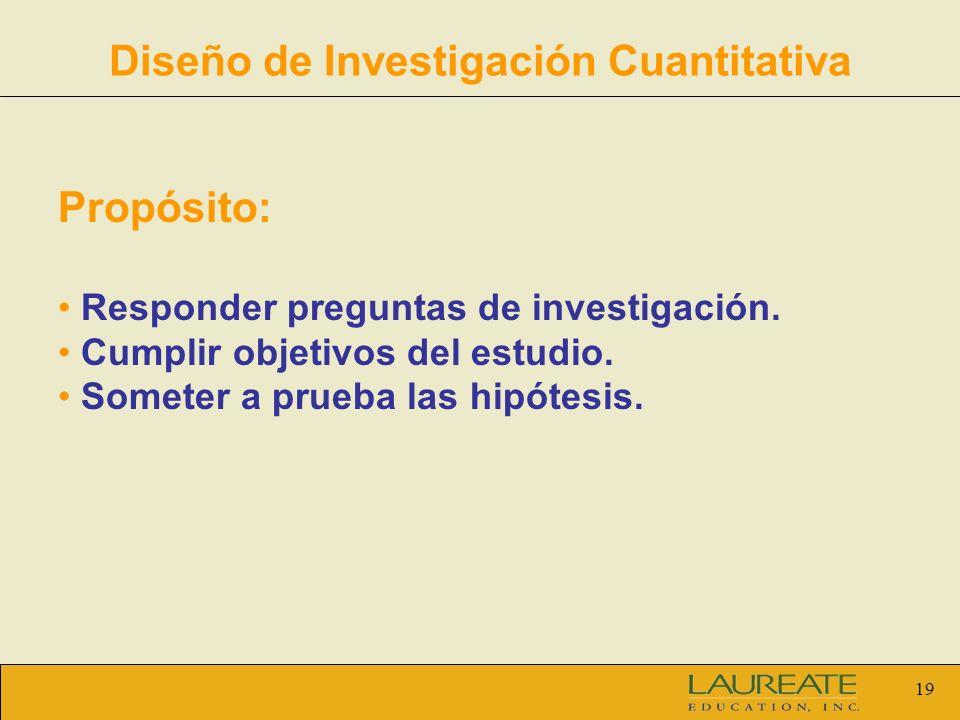 Diseño de Investigación Cuantitativa