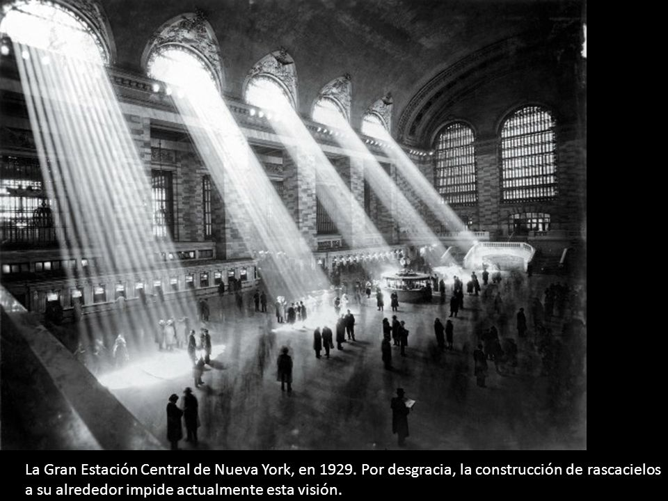 La Gran Estación Central de Nueva York, en 1929