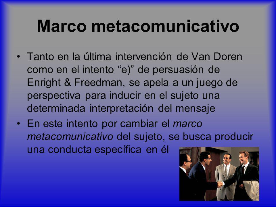 Marco metacomunicativo