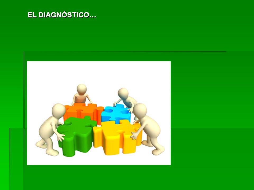 EL DIAGNÓSTICO… 12