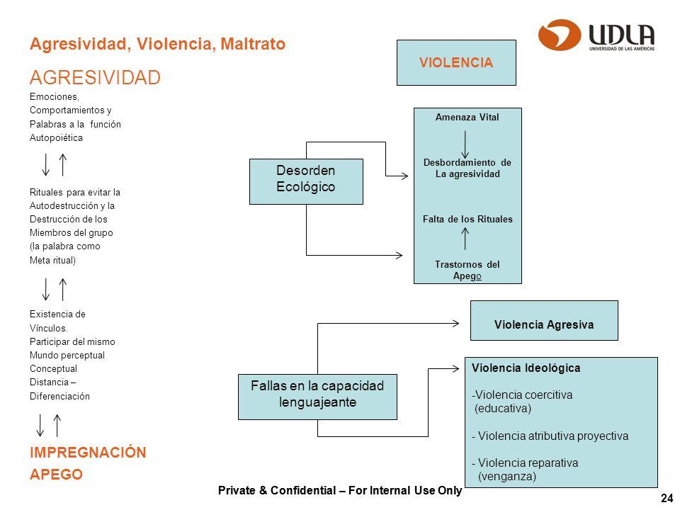 Agresividad, Violencia, Maltrato