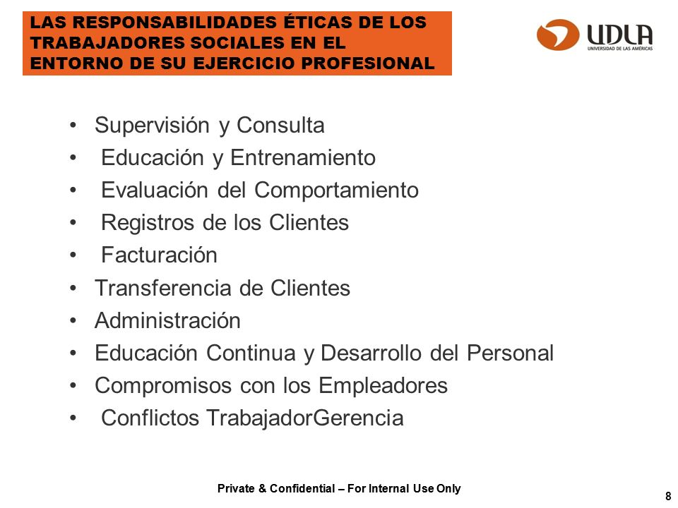 Supervisión y Consulta Educación y Entrenamiento