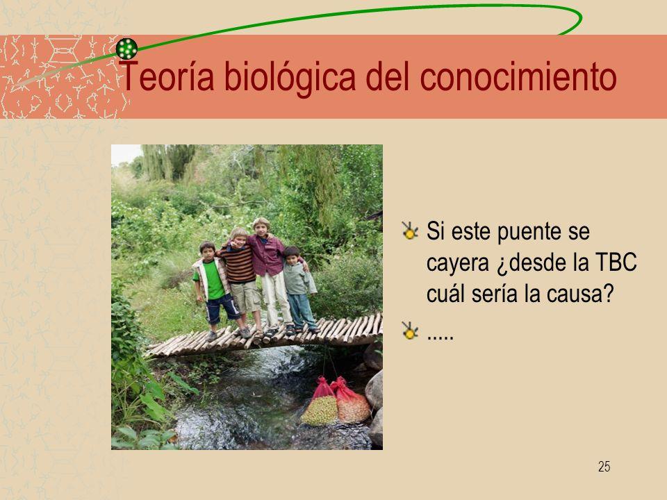 Teoría biológica del conocimiento
