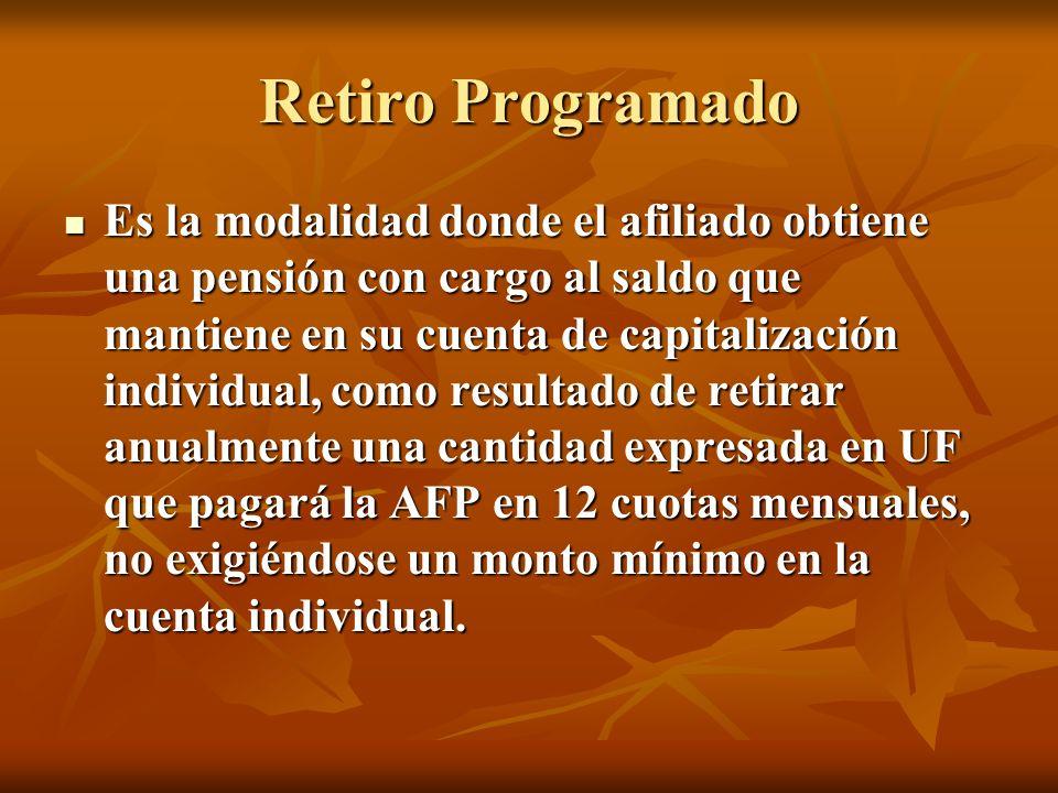Retiro Programado
