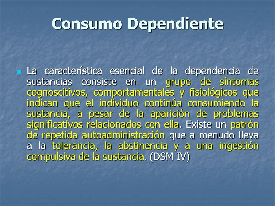Consumo Dependiente