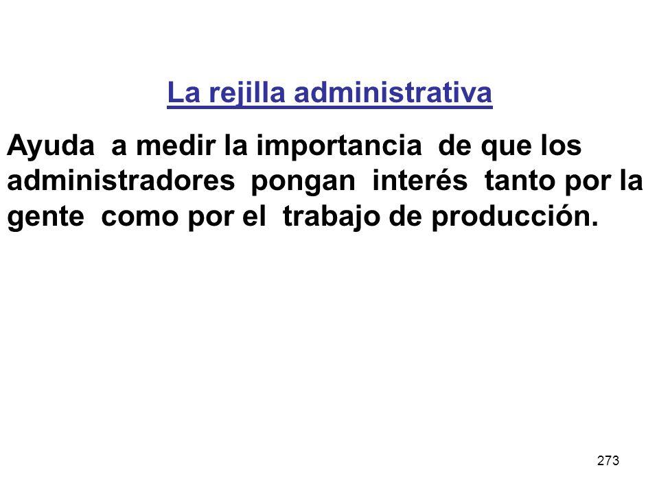 La rejilla administrativa