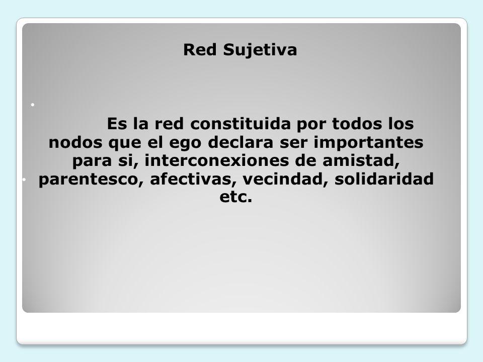 Red Sujetiva