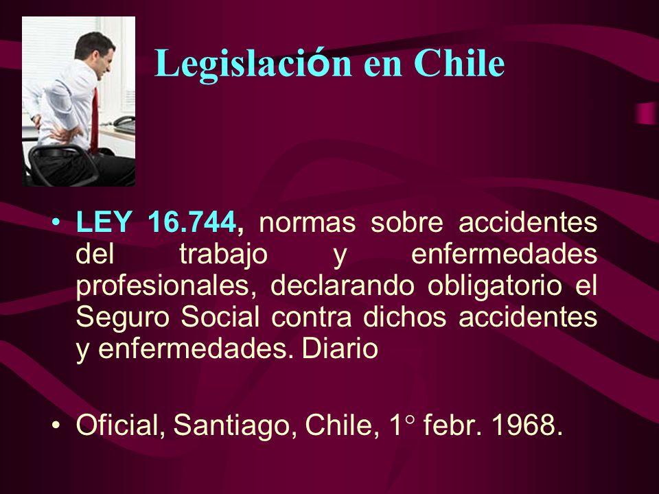 Legislación en Chile