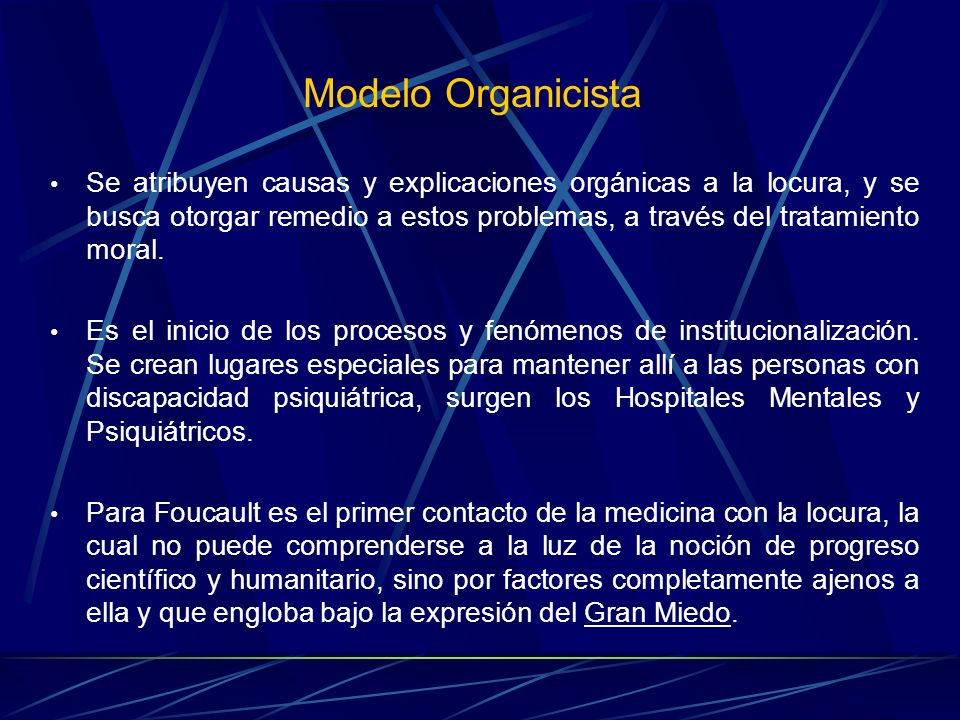 Modelo Organicista