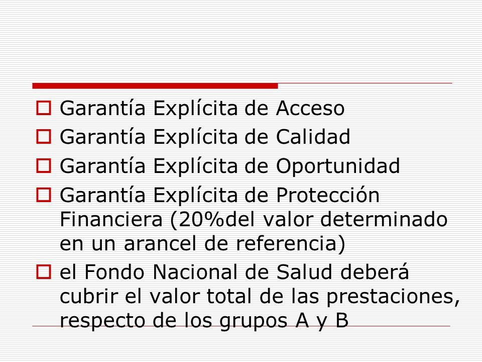 Garantía Explícita de Acceso