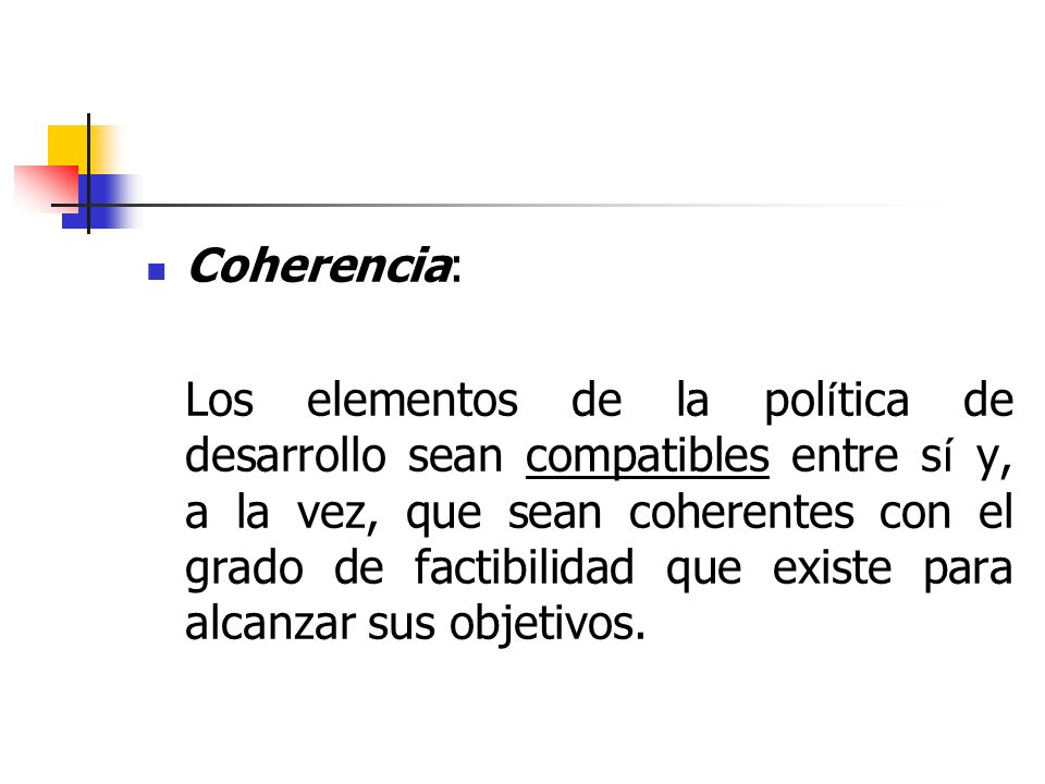 Coherencia: