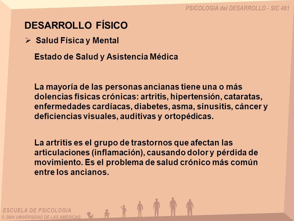 DESARROLLO FÍSICO Salud Física y Mental
