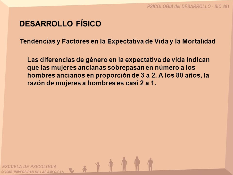 DESARROLLO FÍSICO Tendencias y Factores en la Expectativa de Vida y la Mortalidad.