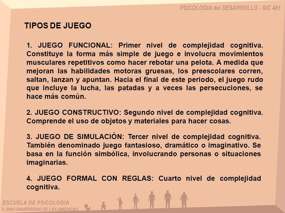 TIPOS DE JUEGO