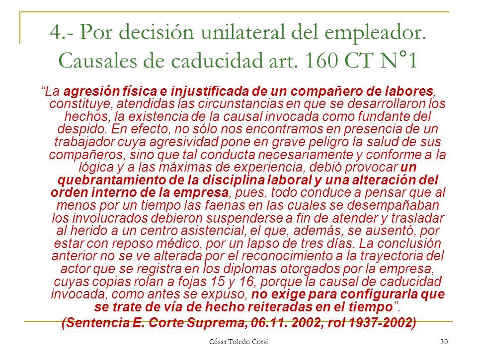 (Sentencia E. Corte Suprema, 06.11. 2002, rol 1937-2002)