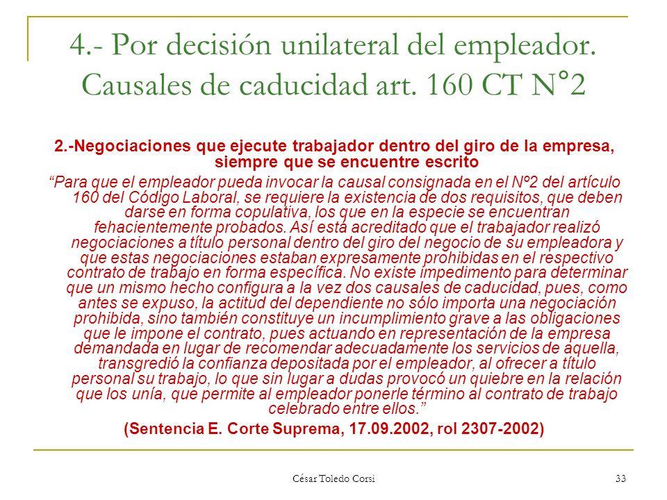 (Sentencia E. Corte Suprema, 17.09.2002, rol 2307-2002)