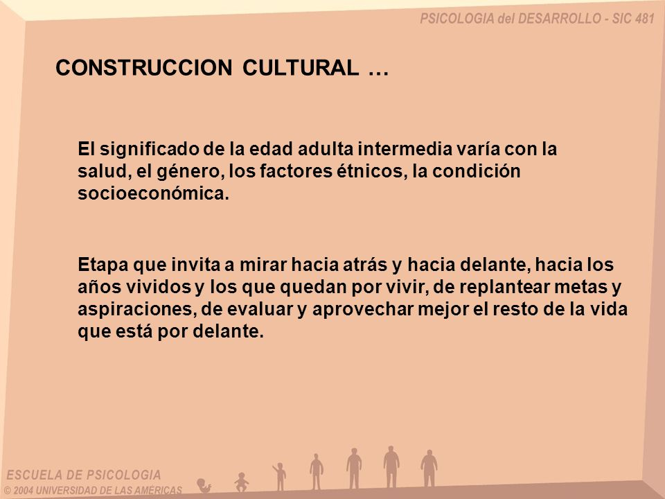 CONSTRUCCION CULTURAL …