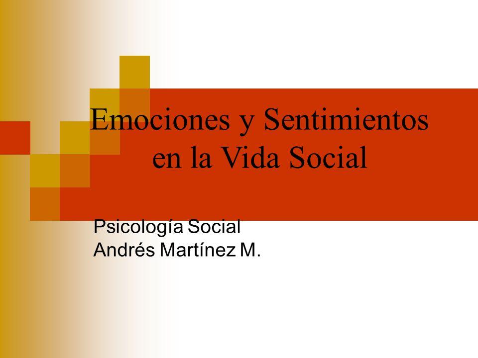 Psicología Social Andrés Martínez M.