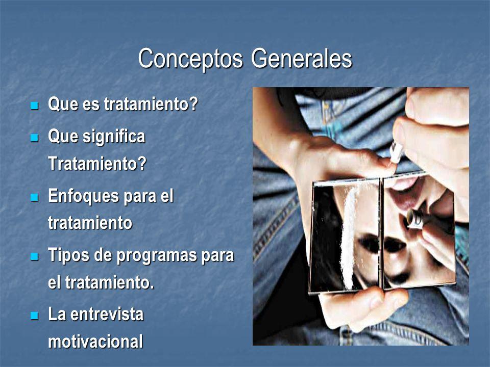 Conceptos Generales Que es tratamiento Que significa Tratamiento