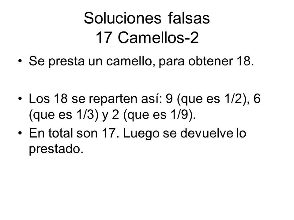 Soluciones falsas 17 Camellos-2