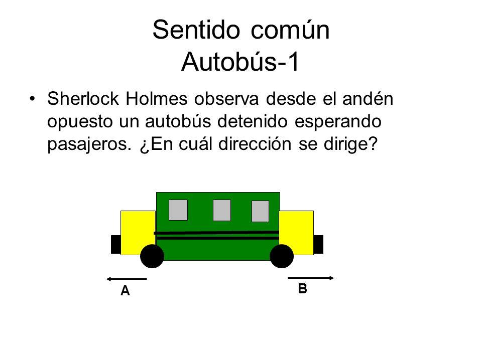 Sentido común Autobús-1