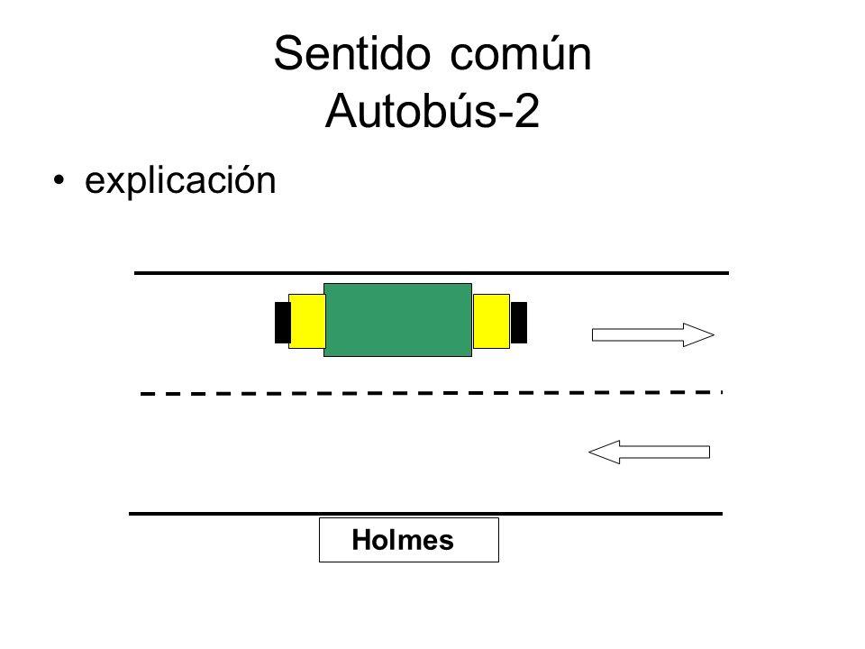 Sentido común Autobús-2