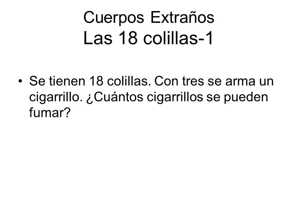 Cuerpos Extraños Las 18 colillas-1