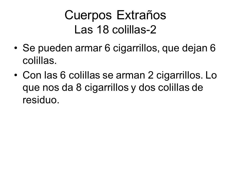 Cuerpos Extraños Las 18 colillas-2
