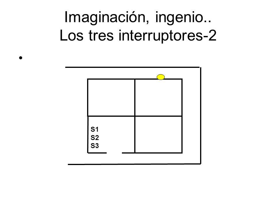 Imaginación, ingenio.. Los tres interruptores-2