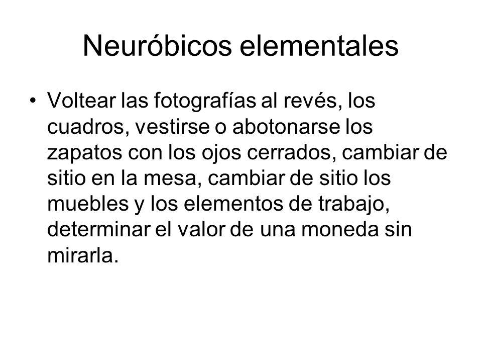 Neuróbicos elementales