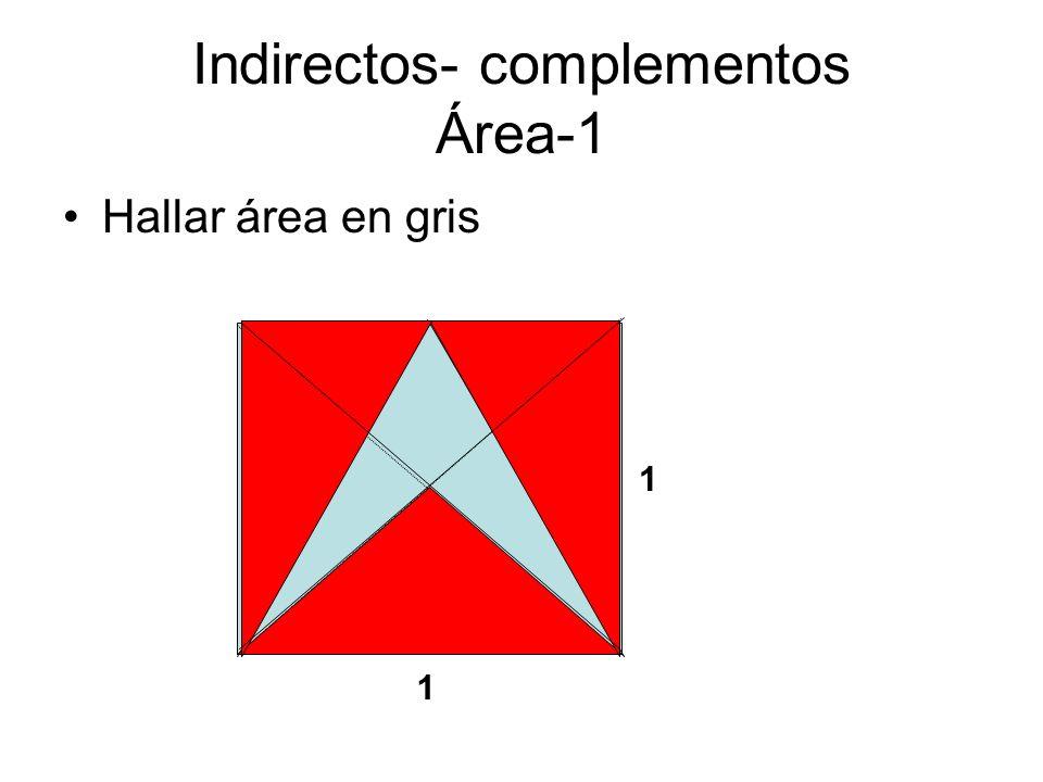 Indirectos- complementos Área-1