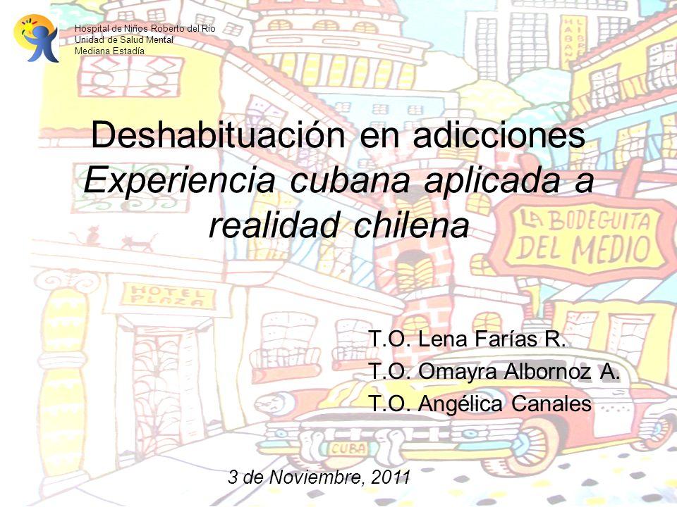 T.O. Lena Farías R. T.O. Omayra Albornoz A. T.O. Angélica Canales