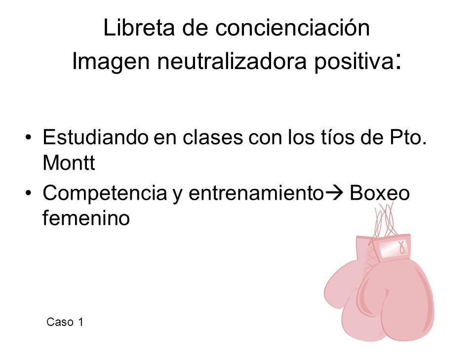 Libreta de concienciación Imagen neutralizadora positiva: