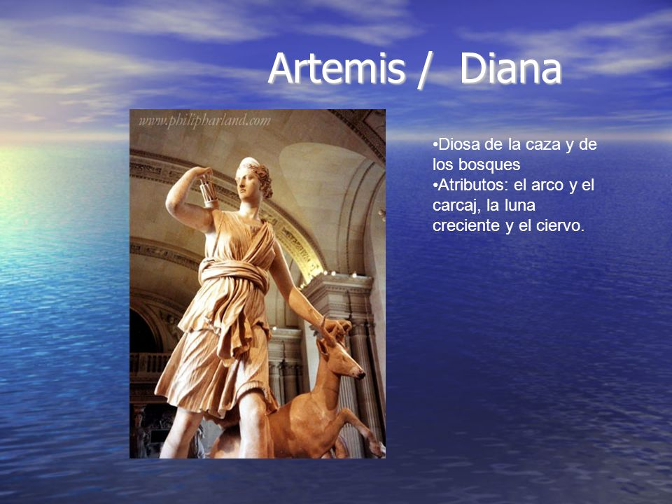 Artemis / Diana Diosa de la caza y de los bosques