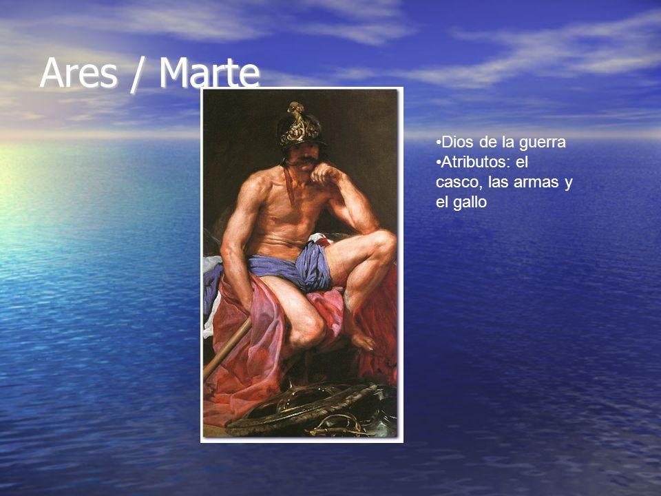 Ares / Marte Dios de la guerra