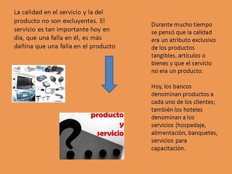 La calidad en el servicio y la del producto no son excluyentes