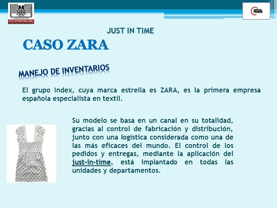 CASO ZARA JUST IN TIME Manejo de inventarios