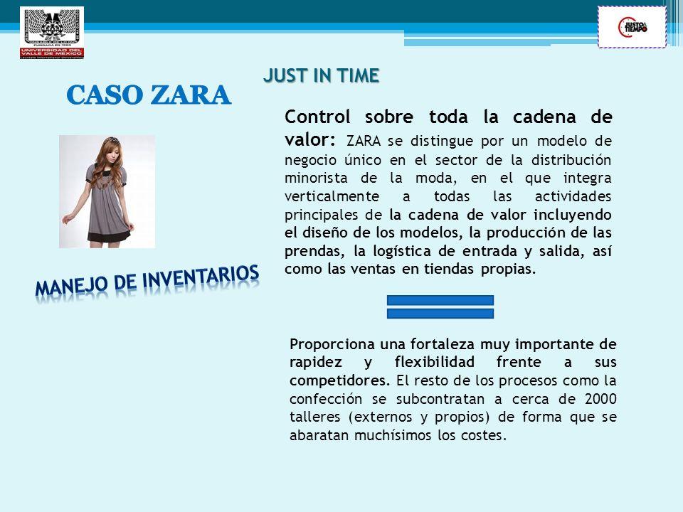 JUST IN TIME CASO ZARA.