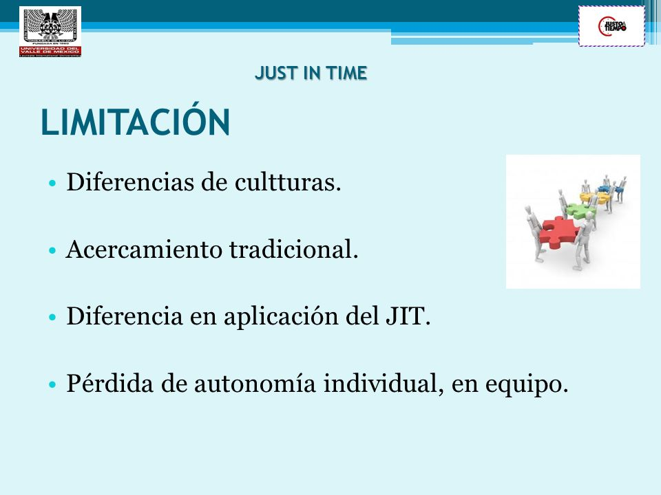 LIMITACIÓN Diferencias de cultturas. Acercamiento tradicional.