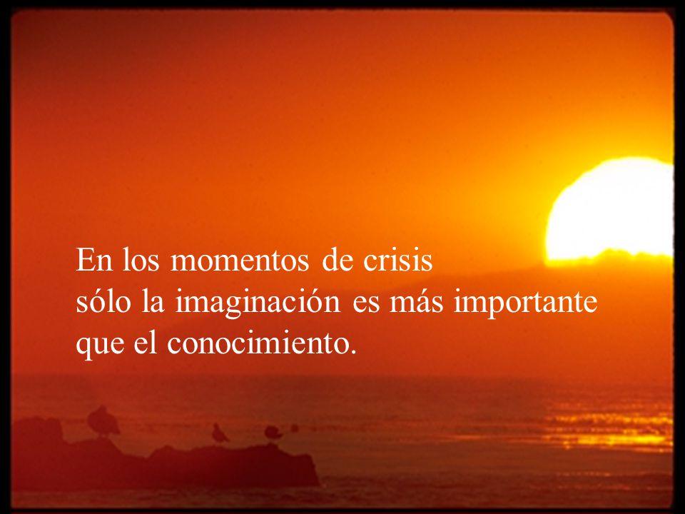 En los momentos de crisis