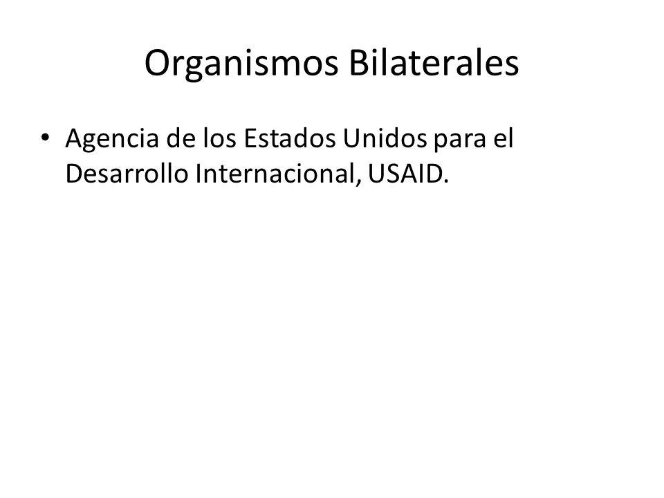 Organismos Bilaterales