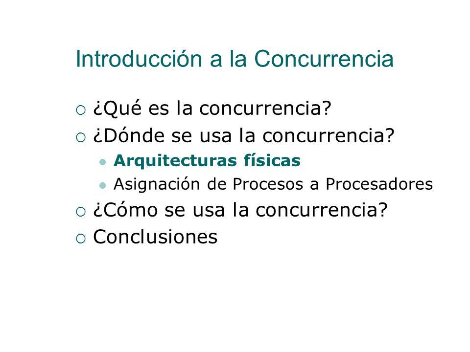 Introducción a la Concurrencia
