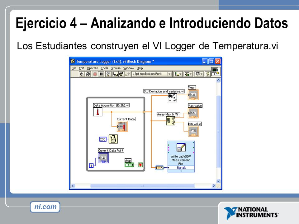 Ejercicio 4 – Analizando e Introduciendo Datos