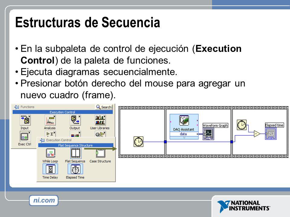 Estructuras de Secuencia