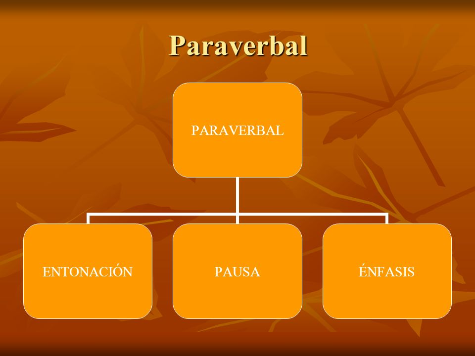 Paraverbal