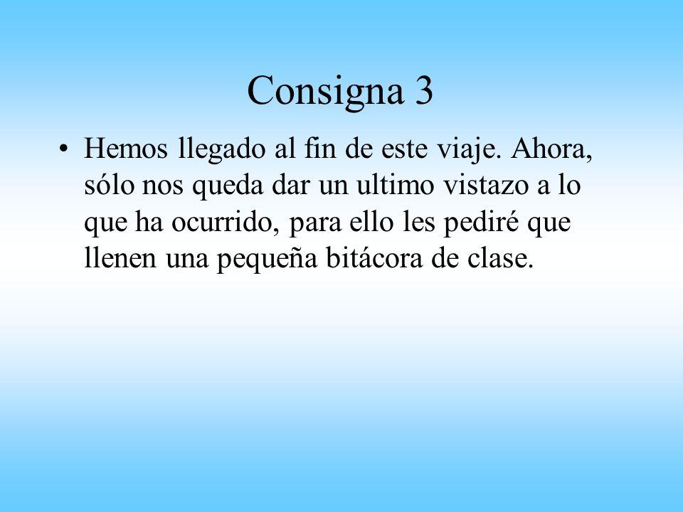 Consigna 3